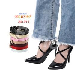 Quai giày chống rộng-chống trượt gót chân-hoặc làm phụ kiện trang trí-khóa điều chỉnh tùy ý phù hợp các loại size