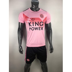 Quần áo đá banh CLB Leycester màu hồng 2019