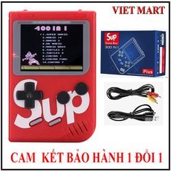 Máy Chơi Game SUP MINI 400 trò Loại 1 giải trí cực vui, Máy Chơi Game Sup 400 game huyền thoại, Máy Game Cầm Tay - BH 1 đổi 1 - nhiều màu CHOTO CT 2639