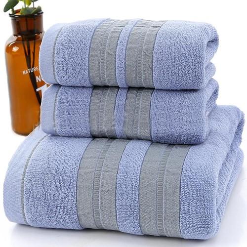 Set 3 khăn siêu thấm chất liệu 100 cotton,1 khăn tắm lớn 70x140 + 2 khăn mặt 34x75- 207 - 17542051 , 21805793 , 15_21805793 , 300000 , Set-3-khan-sieu-tham-chat-lieu-100-cotton1-khan-tam-lon-70x140-2-khan-mat-34x75-207-15_21805793 , sendo.vn , Set 3 khăn siêu thấm chất liệu 100 cotton,1 khăn tắm lớn 70x140 + 2 khăn mặt 34x75- 207