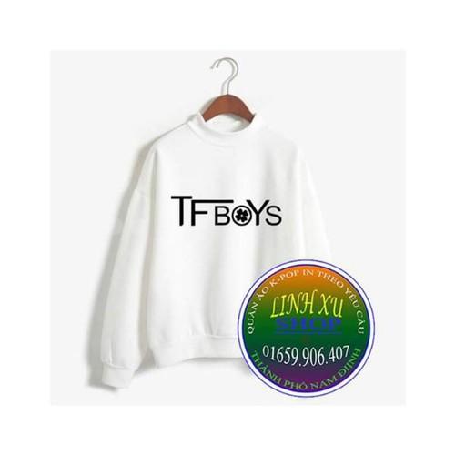 Áo sweater tfboys in theo yêu cầu