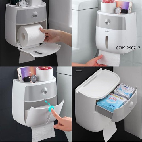 Hộp đựng giấy vệ sinh hai trong một - 19336437 , 21818402 , 15_21818402 , 160000 , Hop-dung-giay-ve-sinh-hai-trong-mot-15_21818402 , sendo.vn , Hộp đựng giấy vệ sinh hai trong một