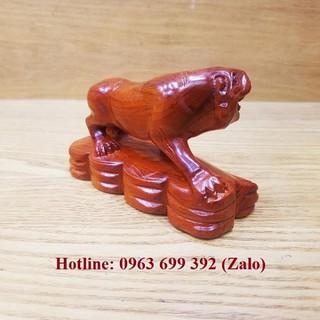 Linh vật tượng con hổ gỗ hương [ĐƯỢC KIỂM HÀNG] 21793500 - 21793500 thumbnail