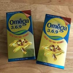 Viên Omega 3 6 9 lọ 100 viên