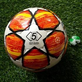 quả bóng đá số 5 mẫu UEFA CHAMPOINS LEAGUE DA SVD CAO CẤP mùa giải 2019 tặng bộ kim túi 2 đôi tất dài đá bóng - BD56