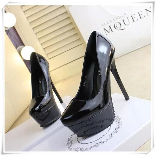 Giày cao gót mũi đúp 16cm
