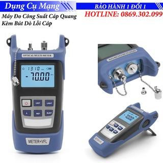 Máy đo công suất cáp quang HX WLF310 Kèm bút dò đứt cáp quang 5Km - Thu Quang 2 Đầu thumbnail