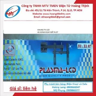 KHUNG TREO TV LCD-PALASMA 42-52INH XOAY - TA07 XOAY thumbnail