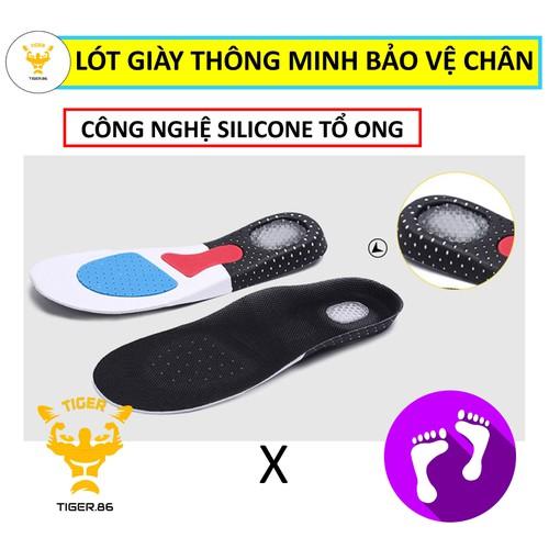 Lót giày thông minh bảo vệ chân [video thật]