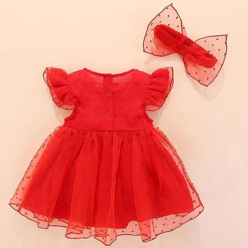 Đầm trẻ sơ sinh từ 0 đến 1 tuổi