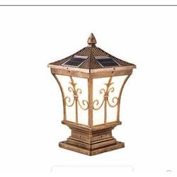 Đèn Trụ Cổng LED Năng Lượng Mặt Trời