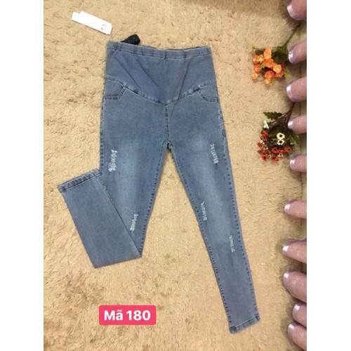 Quần jeans bầu dạo phố - 19349656 , 21841220 , 15_21841220 , 240000 , Quan-jeans-bau-dao-pho-15_21841220 , sendo.vn , Quần jeans bầu dạo phố