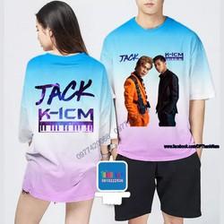 Áo Jack và K-icm áo 3D Thun co dãn 4 chiều