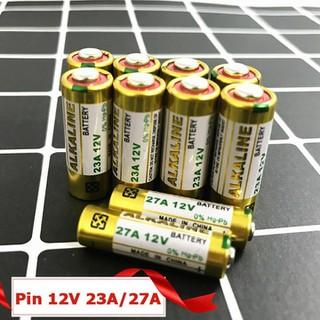 Pin 12V23A 12V27A cho remote cửa cuốn các loại điều khiển công tắc RF ô tô xe đạp điện - pin12v23a 12v27a thumbnail