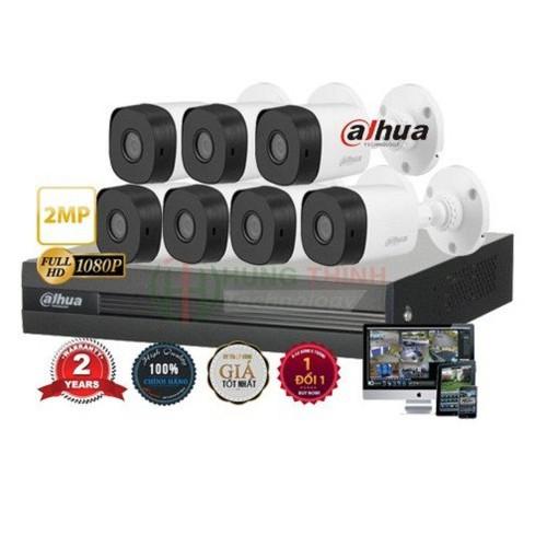 Trọn bộ 7 camera 2.0mp dahua - 19346181 , 21835837 , 15_21835837 , 9180000 , Tron-bo-7-camera-2.0mp-dahua-15_21835837 , sendo.vn , Trọn bộ 7 camera 2.0mp dahua