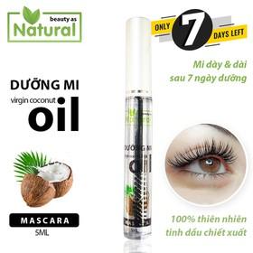 Mascara Dầu Dừa Dưỡng Mi 7 ngày siêu tốc 100 chiết xuất tinh dầu dừa có mùi thơm ngọt dừa - DauDuaMD