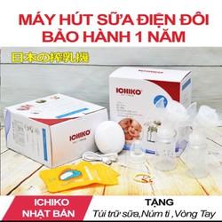 Máy hút sữa ichiko chính hãng tặng túi trữ sữa và đầu ti với vòng tay bảo hành đổi mới 1 năm
