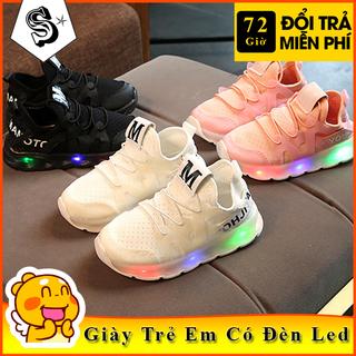 Giày Thể Thao Cho Bé Trai Và Bé Gái Từ 1 Đến 5 Tuổi Có Đèn Led - TTTEM thumbnail