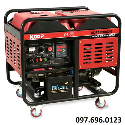 Máy phát điện chạy dầu 11kw koop