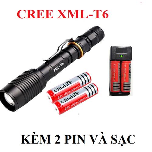 Bộ đèn pin  cầm tay và sạc led cree xml-t6 siêu sáng tặng kèm pin sạc và sạc đôi rời - 17183088 , 21830770 , 15_21830770 , 359000 , Bo-den-pin-cam-tay-va-sac-led-cree-xml-t6-sieu-sang-tang-kem-pin-sac-va-sac-doi-roi-15_21830770 , sendo.vn , Bộ đèn pin  cầm tay và sạc led cree xml-t6 siêu sáng tặng kèm pin sạc và sạc đôi rời