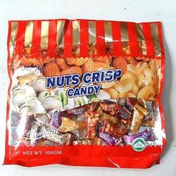 Kẹo mềm bơ & hạnh nhân singapo 500g.