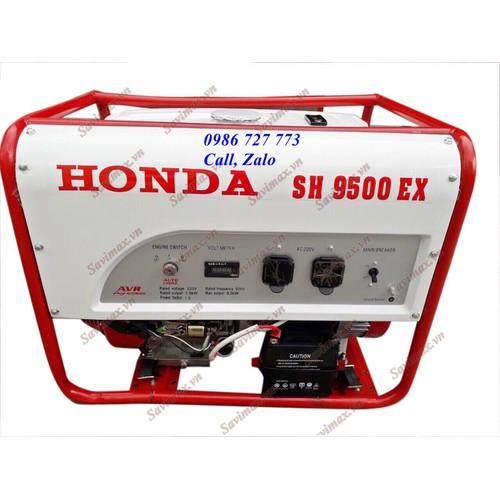 Máy phát điện honda thái lan sh9500ex đề nổ, công suất 8kw
