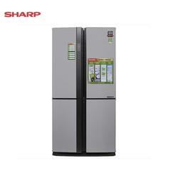 Tủ lạnh 4 cửa Sharp J-Tech Inverter SJ-FX631V-SL 626L