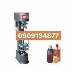 máy đóng nắp chai rượu- máy xoáy nắp nhôm bán tự động- máy siết nắp chai siro-chai nước mắm- máy đóng nắp chai nắp nhôm