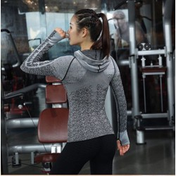 Áo khoác thể thao nữ ôm body