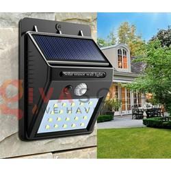 Đèn led năng lượng mặt trời cảm biến thông minh cao cấp