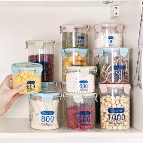 Hũ nhựa đựng thực phẩm có nắp - 17495445 , 21368466 , 15_21368466 , 10200 , Hu-nhua-dung-thuc-pham-co-nap-15_21368466 , sendo.vn , Hũ nhựa đựng thực phẩm có nắp