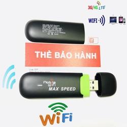 thiết bị phát wifi 3g 4g ,usb 3g 4g sài wiif miễn phí tuwfd dcom 3g max speed mẫu mới ra