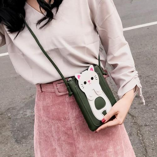 Túi đựng điện thoại - túi đeo chéo mini bag hình chú mèo đáng yêu - 19362305 , 21862049 , 15_21862049 , 45000 , Tui-dung-dien-thoai-tui-deo-cheo-mini-bag-hinh-chu-meo-dang-yeu-15_21862049 , sendo.vn , Túi đựng điện thoại - túi đeo chéo mini bag hình chú mèo đáng yêu