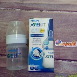 Bình-sữa bằng nhựa không chứa BPA SCF 560.17 Avent - 125ml - SCF 560.17