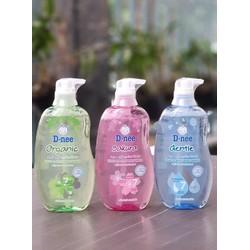 sữa tắm dnee organic 480ml Thái Lan