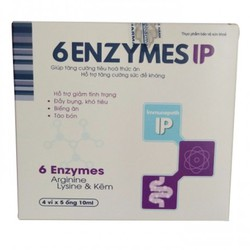 6 enzymes IP - Hỗ trợ hấp thu