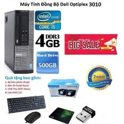 Máy Tính Đồng Bộ Dell Optiplex 3010 Core i5-4g-500g ,Tặng Bàn phím chuột, USB wifi , Bàn di chuột , Loa mini 2.0-Bảo hành 12 tháng