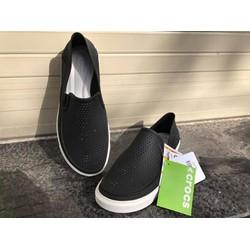 Giày slip-on Crocs.Citilane Roka Màu đen cho nam