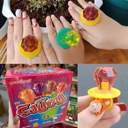 Kẹo nhẫn kim cương RingPop Thái Lan hộp 24 cái