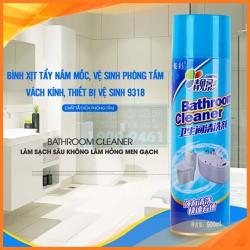 Bình xịt tẩy nấm mốc, vệ sinh phòng tắm, vách kính, thiết bị vệ sinh 9318