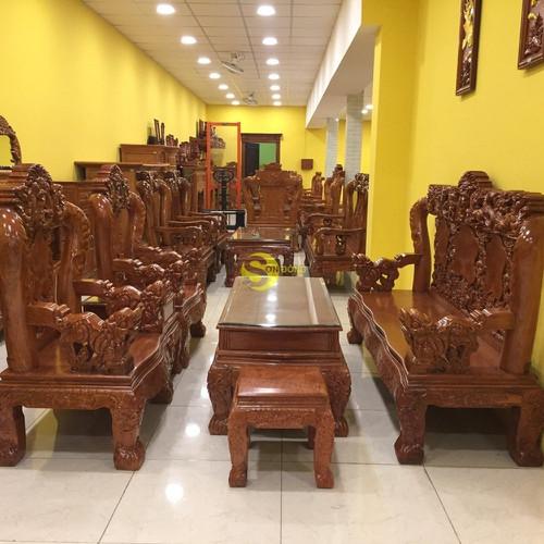 Bộ bàn ghế gỗ hương đá chạm tứ linh 6 món tay 12 - 17579060 , 21881290 , 15_21881290 , 53900000 , Bo-ban-ghe-go-huong-da-cham-tu-linh-6-mon-tay-12-15_21881290 , sendo.vn , Bộ bàn ghế gỗ hương đá chạm tứ linh 6 món tay 12