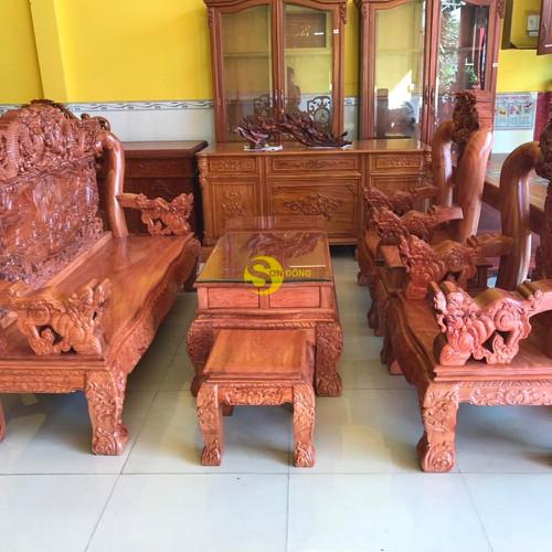 Bộ bàn ghế chạm rồng bát tiên gỗ hương đá tay 12, 6 món - 17579137 , 21881374 , 15_21881374 , 53900000 , Bo-ban-ghe-cham-rong-bat-tien-go-huong-da-tay-12-6-mon-15_21881374 , sendo.vn , Bộ bàn ghế chạm rồng bát tiên gỗ hương đá tay 12, 6 món