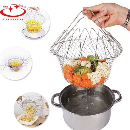Rô đựng thực phẩm thông minh chef basket inox - 17183467 , 21888574 , 15_21888574 , 119000 , Ro-dung-thuc-pham-thong-minh-chef-basket-inox-15_21888574 , sendo.vn , Rô đựng thực phẩm thông minh chef basket inox