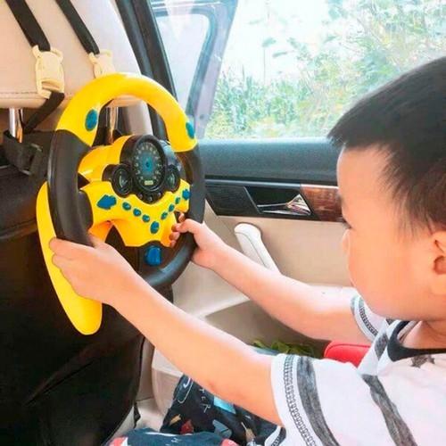 Vô lăng đồ chơi cho bé phát nhạc - đồ chơi vô lăng cho bé