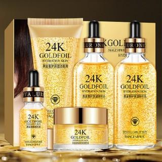 [CHÍNH HÃNG] Bộ dưỡng tái sinh da IMAGES tinh chất vàng 24K bộ chăm sóc da bộ dưỡng trắng da - BMP24K thumbnail