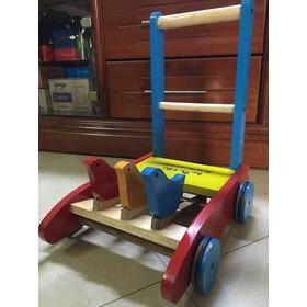 Xe Gỗ Tập Đi Cho Bé , Xe Gà Tập Đi Cho Bé , Xe Hỗ Trợ Để Bé Đi Nhanh Hơn- Đồ Chơi CHo Trẻ - xe tập đi cho bé