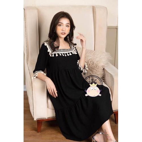 Váy bầu dáng dài thổ cẩm chất đẹp - 17578043 , 21880129 , 15_21880129 , 320000 , Vay-bau-dang-dai-tho-cam-chat-dep-15_21880129 , sendo.vn , Váy bầu dáng dài thổ cẩm chất đẹp