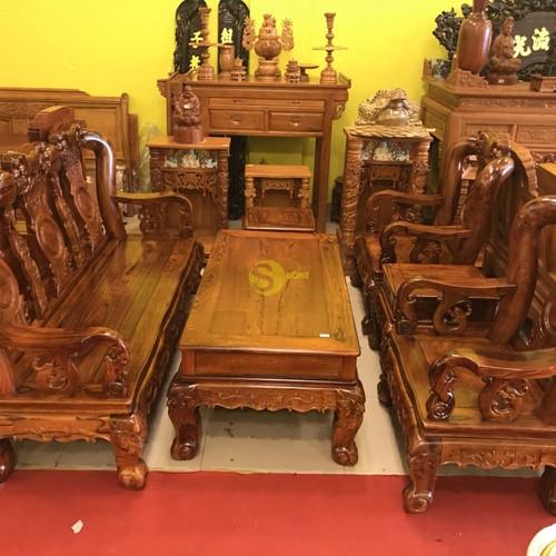 Bộ bàn ghế chạm đào gỗ cẩm lai tay 12 - 17583183 , 21887236 , 15_21887236 , 129000000 , Bo-ban-ghe-cham-dao-go-cam-lai-tay-12-15_21887236 , sendo.vn , Bộ bàn ghế chạm đào gỗ cẩm lai tay 12