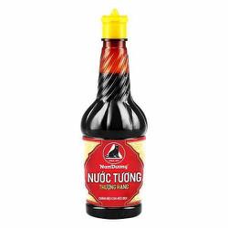 Nước Tương Thượng Hạng Nam Dương chính hiệu con mèo đen chai nhựa 210ml