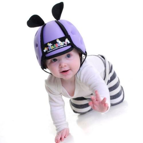 Nón tập đi bảo vệ đầu cho bé - màu ngẫu nhiên